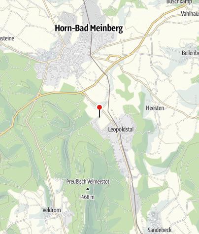 Karte / Ferienhaus Rosenwinkel am Silberbach F***
