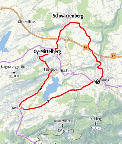 Karte / Rund um den Grüntensee