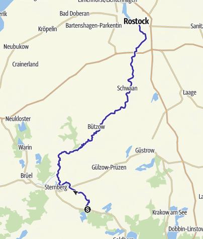 Wasserwandern Mecklenburgische Seenplatte Karte.Wildwasserromantik Kanu Outdooractive Com