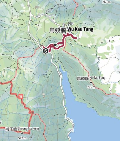 Map / 新娘潭照鏡潭烏蛟騰