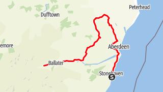 Map / Castle Trail: Sightseeingtour im schottischen Aberdeenshire