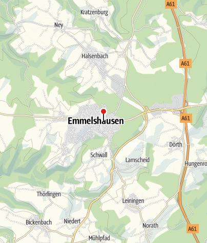 Karte / Wandern - Saar-Hunsrück-Steig kurz