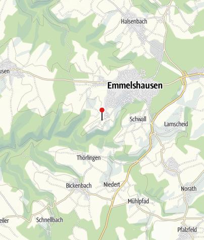 Karte / 4 Traumschleifen im Baybachtal