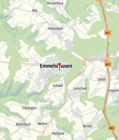 Karte / Radeln - Rhein-Mosel-Schinderhannes