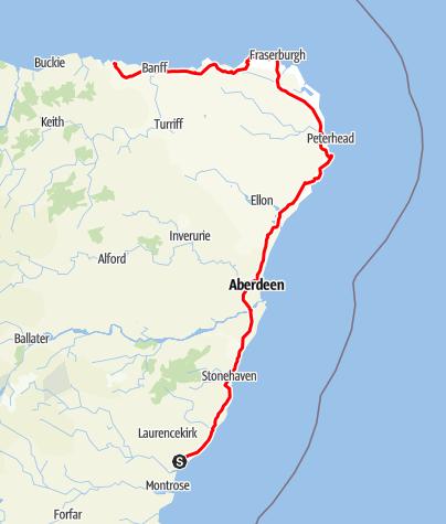 Karte / Unterwegs auf dem Coastal Trail