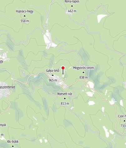 Térkép / Galyatető Turistacentrum