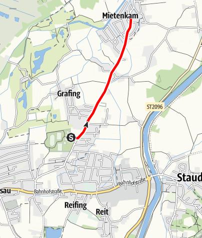 Karte / Grassau-Mietenkam genial vital 2