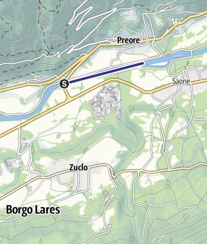 Mappa / Fiume Sarca  PT4