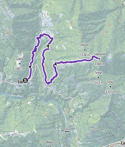 Cartina / Salmone Trail