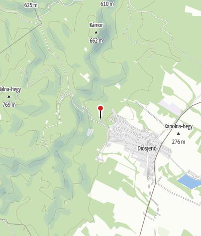 Térkép / Diósjenői Erdei Szabadidőpark
