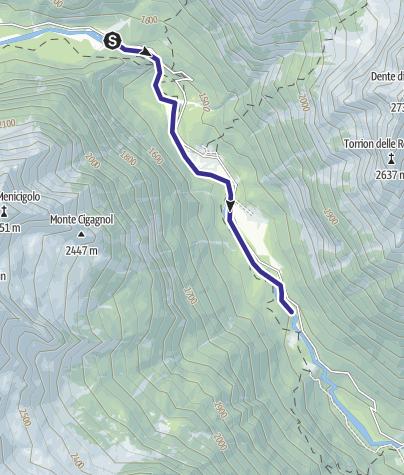 Karte / Zona Alta Val Genova