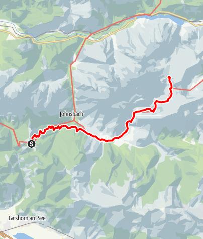 Karte / Gesäuse-Runde - Etappe 2: Mödlinger Hütte - Heßhütte
