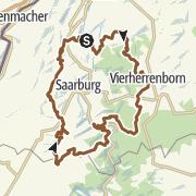 Karte / Mountainbike-Tour XXL