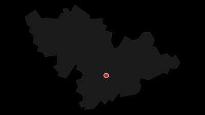 Karte / Krönungsweg (10) - Gesamtverlauf
