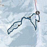 Karte / Herrenköpfl und Loosbichl
