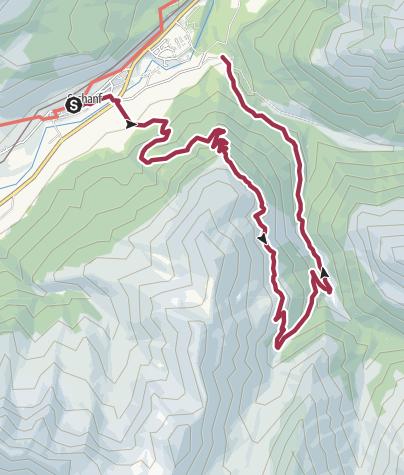 Map / St. Moritz: DT - Alp Vaüglia