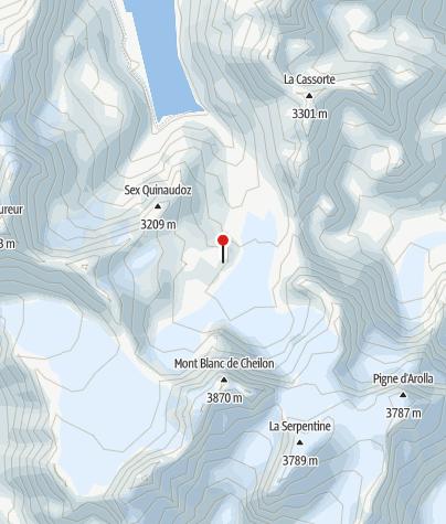 Karte / Cab. des Dix