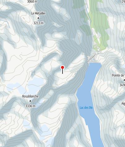 Karte / Cab. de Prafleuri
