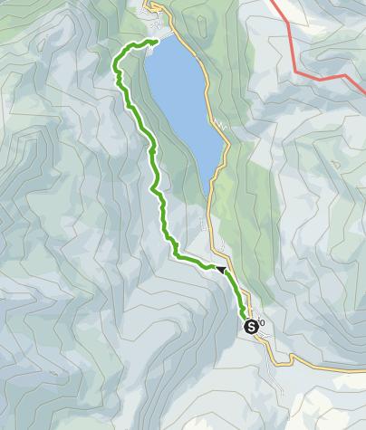 Karte / Alpleben hoch über dem Marmorerasee (Bivio - Alp La Motta - Marmorera)