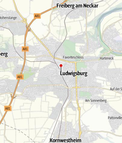 Karte / Fahrrad Imle, Ludwigsburg