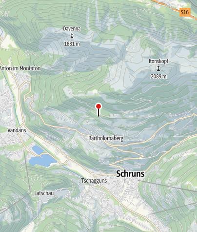 Karte / Goritschang (Bergknappenweg)