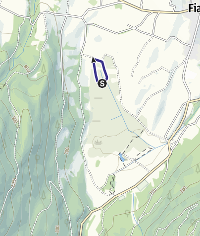 Mappa / Divieto Biotopo Fiavè