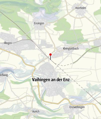 Karte / E-Bike-Station am Bahnhof Vaihingen/Enz