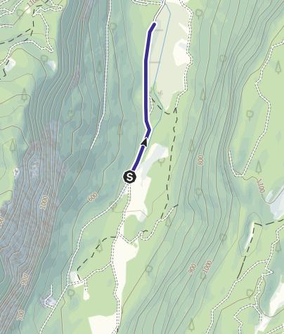Cartina / Divieto Biotopo Lomasona