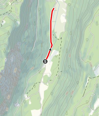 Map / Divieto Biotopo Lomasona