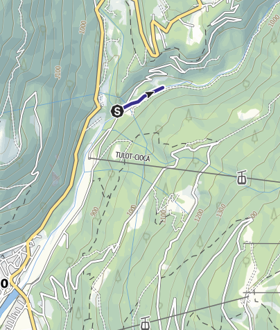 Karte / Divieto Sarca di Campiglio