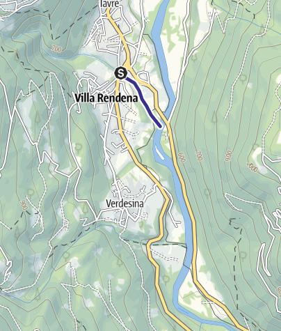Karte / Divieto Rio Bedù 1