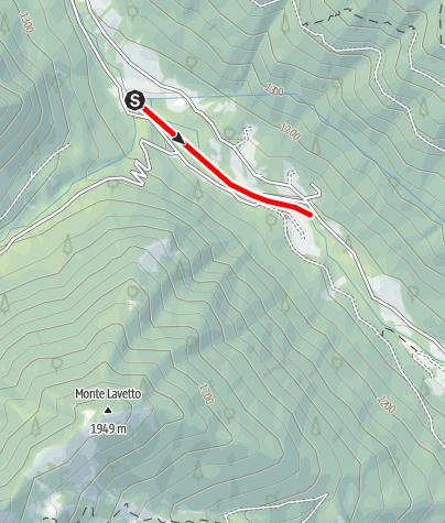 מפה / Divieto Torrente Arnò