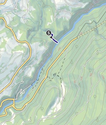 Karte / Divieto Torrente Ambiez