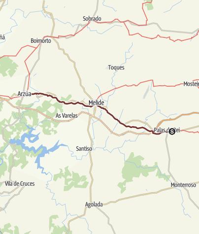 Jakobsweg Spanien Karte.116 Km Jakobsweg In Fünf Etappen Von Palas De Rei Bis Arzúa