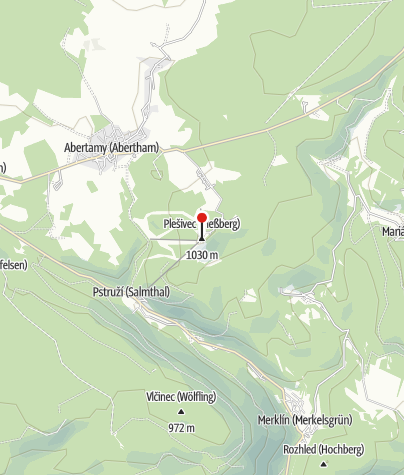 Map / Berghotel Plessberg Hotel Plesivec