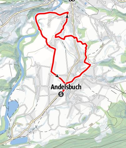 Map / Andelsbuch | Engelgass run