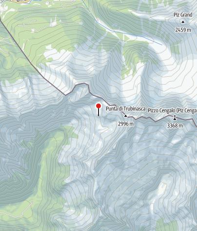 Karte / Bivaco Pedroni