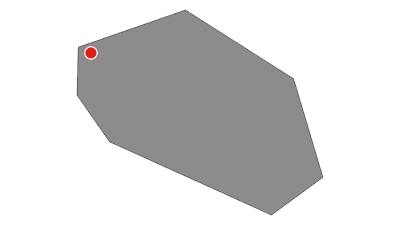 מפה / מהמצפה למבצר המונפורט