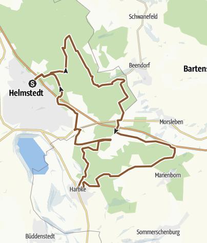 Karte / Schlosspark Harbke