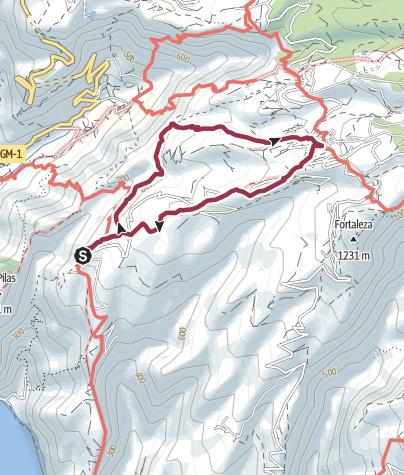Mapa / De Gerián a Chipude