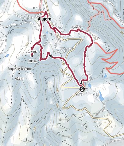 Mapa / De Antoncojo a la Ermita San Isidro