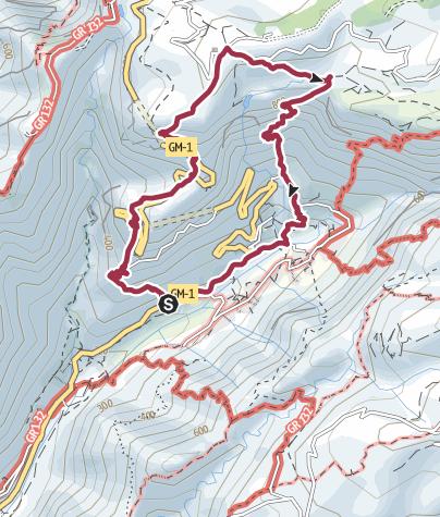 Mapa / Vuelta al Mirador César Manrique