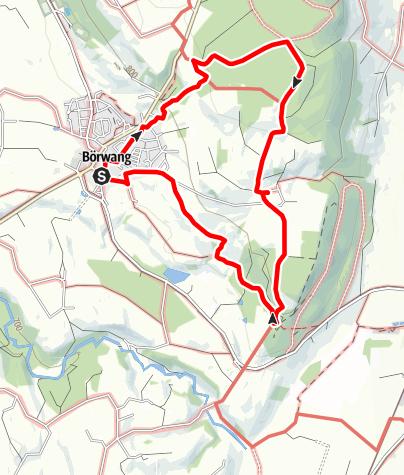 Karte / Börwang - Ritterweg