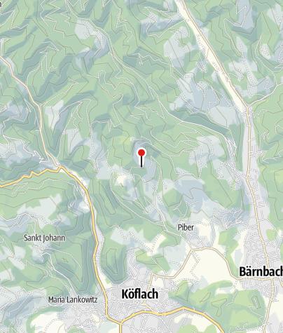 Karte / Wegkreuz Piberegg