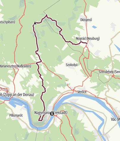 Térkép / Nagymaros – Nógrád (OKT-17.)
