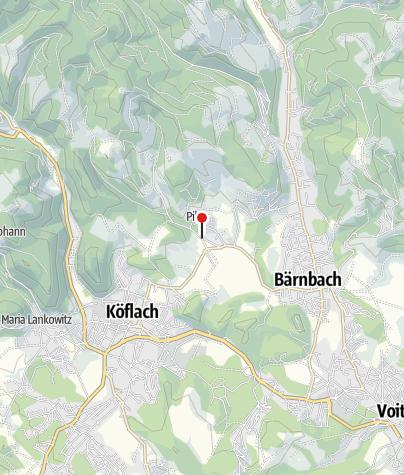 Karte / Trinkwasserbrunnen (Lipizzanergestüt Piber)