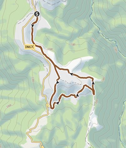 Karte / Transalpina MTB