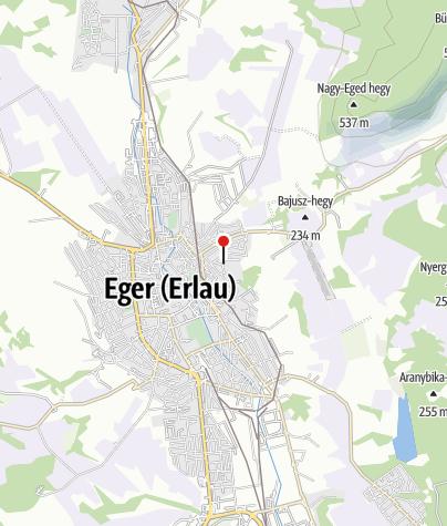 Térkép / Siesta Vendégház