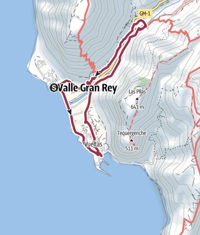 Mapa / Explorarando el Valle Gran Rey