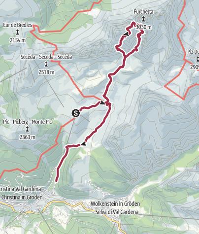 Map / Sass Rigais